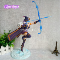 Game LOL The Frost Archer Ashe Action Figures PVC Toys Collection Toys 23CM Plastic Model Doll Birthday Gift for Boy