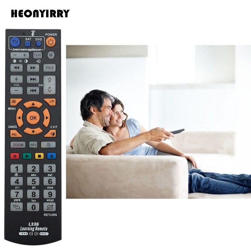 Universal Learning Remote Control Wireless Smart TV Remote Control TV Controller Replacement For Smart TV CBL STB DVD SAT DVB