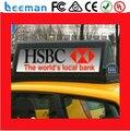 Leeman P5 led верхний свет P5mm Высокая Яркость Беспроводной 3 Г Контролируемых СВЕТОДИОДНЫЙ Знак Такси/ВОДИТЬ Такси Знаком На Крыше/такси Верхний СВЕТОДИОДНЫЙ Дисплей