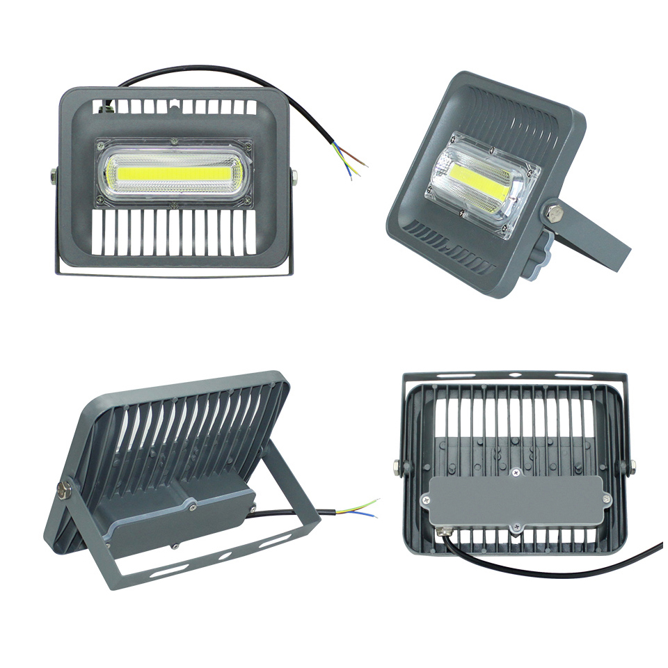 IP66 AC110V 220V 30W 50W 100W 150W LED Flood Light Waterproof LED Outdoor Lighting Garden Wall Reflector Garage Car Repairing