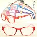 Atacado 8329 TR90 templo cheio garoto bonito dos desenhos animados 3D aluno flexi armações de óculos ópticos óculos eyewear frete grátis