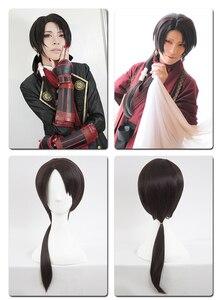 Image 5 - HSIU Peluca de Cosplay de alta calidad de Kashuu Kiyomitsu, Touken Ranbu, traje de fantasía en línea, pelucas de juego, envío gratis, Disfraces de Halloween, pelo
