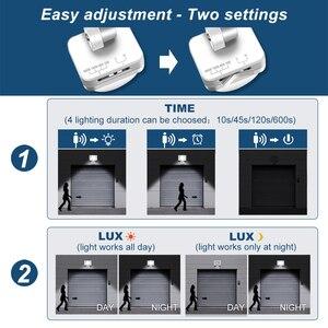 Image 4 - 20W LED Motion Sensor Flood Light 2000lm IP66 Waterproof LED Floodlight Outdoor Spotlight for Garden Patio