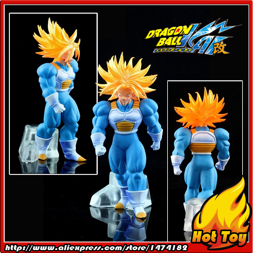 100% Original BANDAI Gashapon PVC Toy Figure DG SP - Trunks Super Saiyan from Japan Anime Dragon Ball Z (9cm tall) sailor moon capsule communication instrument machine accessory gashapon figure anime toy full set 100