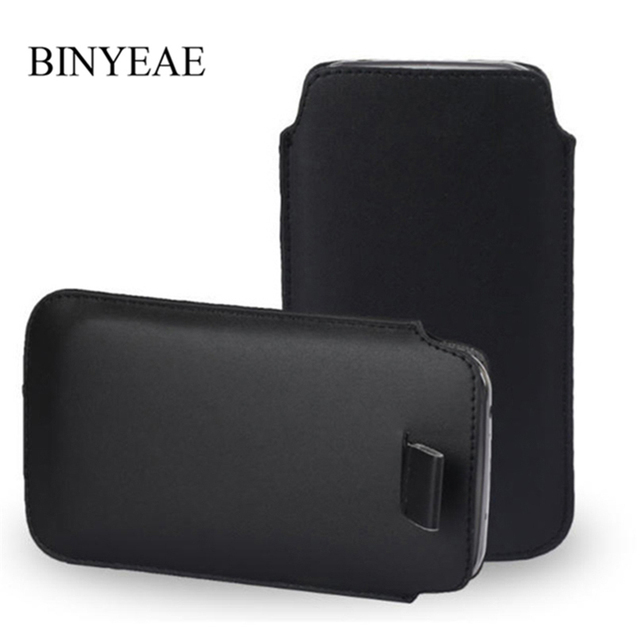 PU Leather Pouch Coque For itel A45 A22 A62 S42 A44 S21 S41 Pocket Rope Holster Pull Tab Pouch Cover Accessories Phone Bag Case