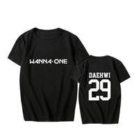 ALIPOP KPOP Korean Fashion Wanna One WannaOne Cotton Tshirt K POP T Shirts T Shirt PT568