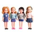 Кукла Reborn  4 типа  13 дюймов  34 см  Реалистичная  3D  для детей  виниловая  модная  для девочек