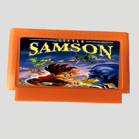 Top Quality Game Cartridge 60 Pins 8 Bit Integrated Game Card Better Than Bean Card — Little Samson