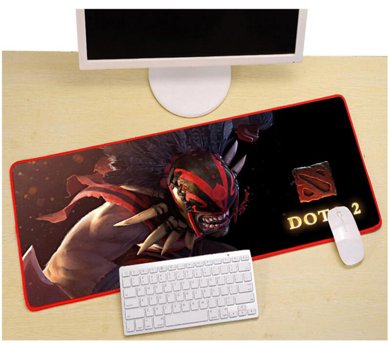 800x300x3mm gaming muismat DIY lock rand computer mousepad laptop - Computerrandapparatuur - Foto 1