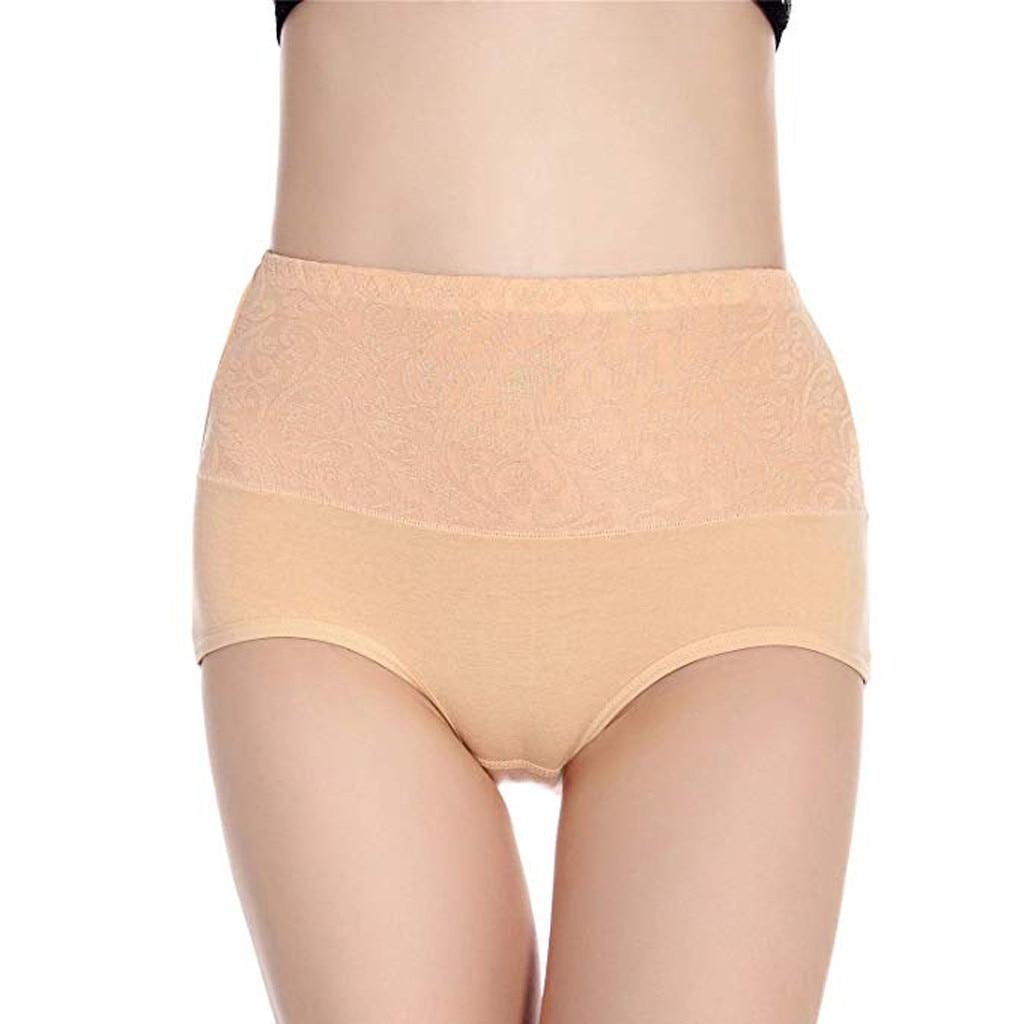 Women High Waist Tummy Control Panties Underwear Shapewear Brief Panties Women's Panties Intimates briefs nderwear Sleepwear