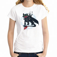 New Women's T-shirt Lord of The Rings The Witch King of Berk Toothless Artsy Artwork Printed Girl's tshirt Streetwear tees tops(China)