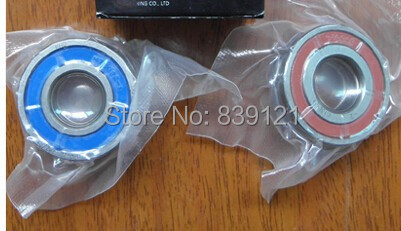 UTE double sealed angular contact bearing 7005DB high speed engraving machine spindle dedicated for 2.2kw spindle, anti dust 1pcs 71822 71822cd p4 7822 110x140x16 mochu thin walled miniature angular contact bearings speed spindle bearings cnc abec 7
