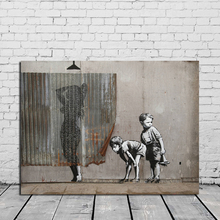 Banksy Street Graffiti HD Wall Art Canvas Poster And Print Oil Painting Decorative Picture For Office Bedroom Home Decor