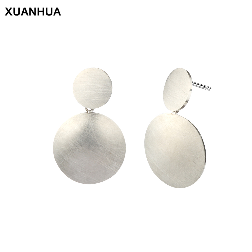XUANHUA stainless steel stud earrings for women jewelry 2018 brincos earings fashion jewelry korean errings gifts for women ...
