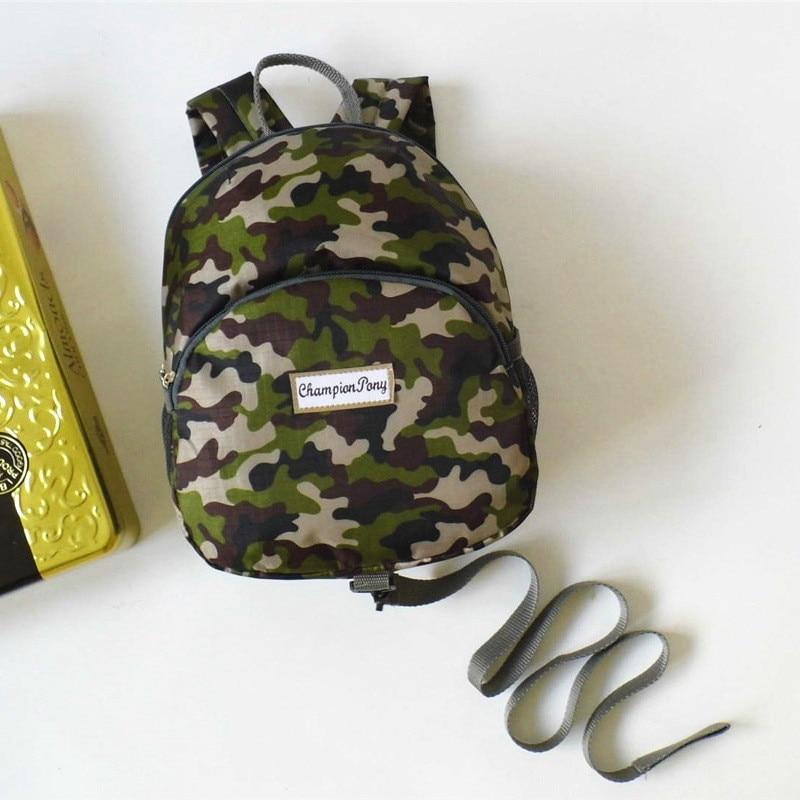 Children Backpack Anti-lost Kindergarten Backpack/kid School Bags/Satchel for Boys Girls Camouflage For kids 1-3 ages Gift