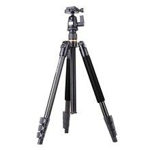 Atualização perna flip lock viagem benro câmera tripé invertido coluna central atender baixo ângulo shoot shoot e marco novo kit kamera q510