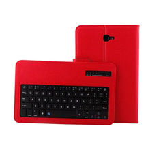 For Samsung Galaxy Tab A6 SM-T580 T585 T580N T585N 10.1″Tablet Cover Case Wireless Bluetooth keyboard Protective PU Leather Case