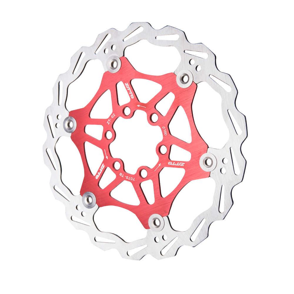 ZTTO frein à disque vélo Rotor flottant 180mm 160mm acier inoxydable disque de frein hydraulique pour vtt vélo de route