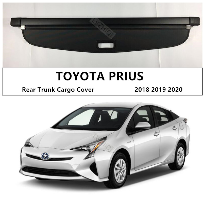 Rear Trunk Cargo Cover For TOYOTA PRIUS 2018 2019 2020