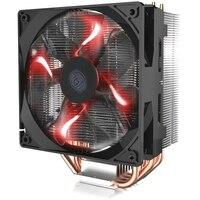 Cooler Master T400 T400i 12cm 4pin cooling CPU fan 4 Copper Heatpipe CPU cooler radiator for Intel 775 115X 1366 2011 CPU AM4