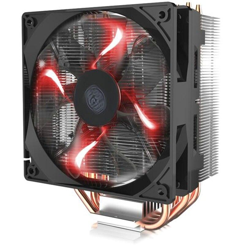Cooler Master T400 T400i 12 cm 4pin de refroidissement ventilateur CPU 4 Heatpipe de Cuivre refroidisseur de processeur radiateur pour Intel 775 115X1366 2011 CPU AM4