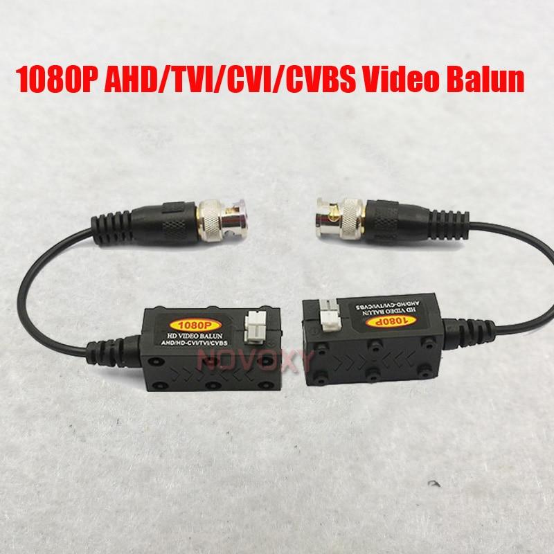 HD  AHD/HDCVI/HDTVI BNC To UTP Cat5/5e/6 CCTV Video Balun CCTV Accessories Passive Transmitter 600m