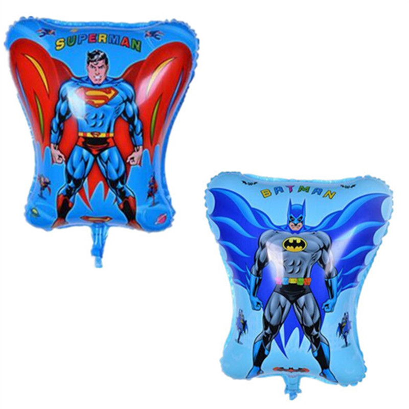 Cartoon Batman Foil Balloons Inflatable toys Helium Balloon kids classic toys ai