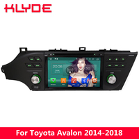 KLYDE 8 4G Android 8.0 Octa Core 4GB RAM 32GB ROM BT Car DVD Multimedia Player Radio For Toyota Avalon 2014 2015 2016 2017 2018