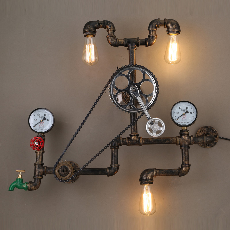 steampunk lighting.