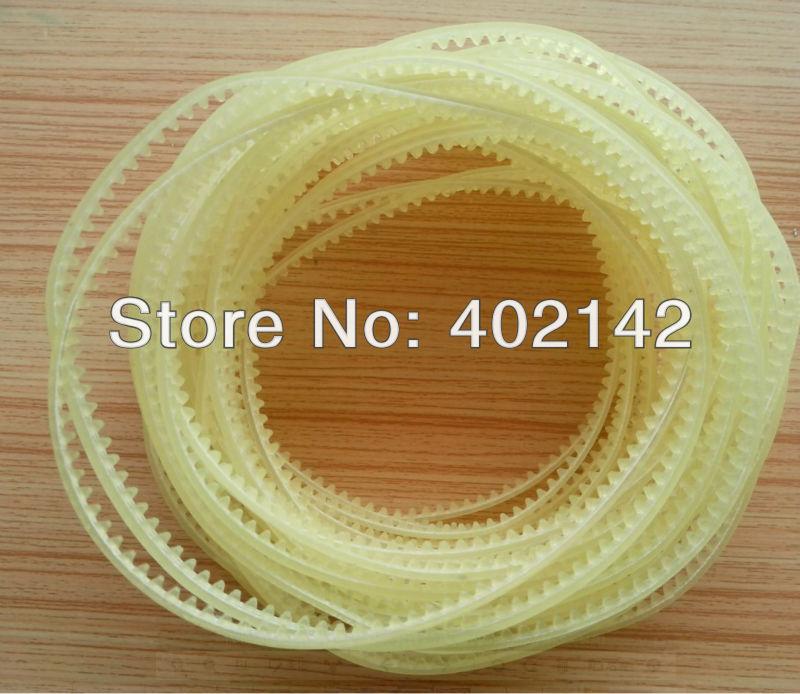 купить Free Shipping,100pcs/lot 59.8cm Gear belt for band plastic bag/film sealing machine по цене 3472.18 рублей