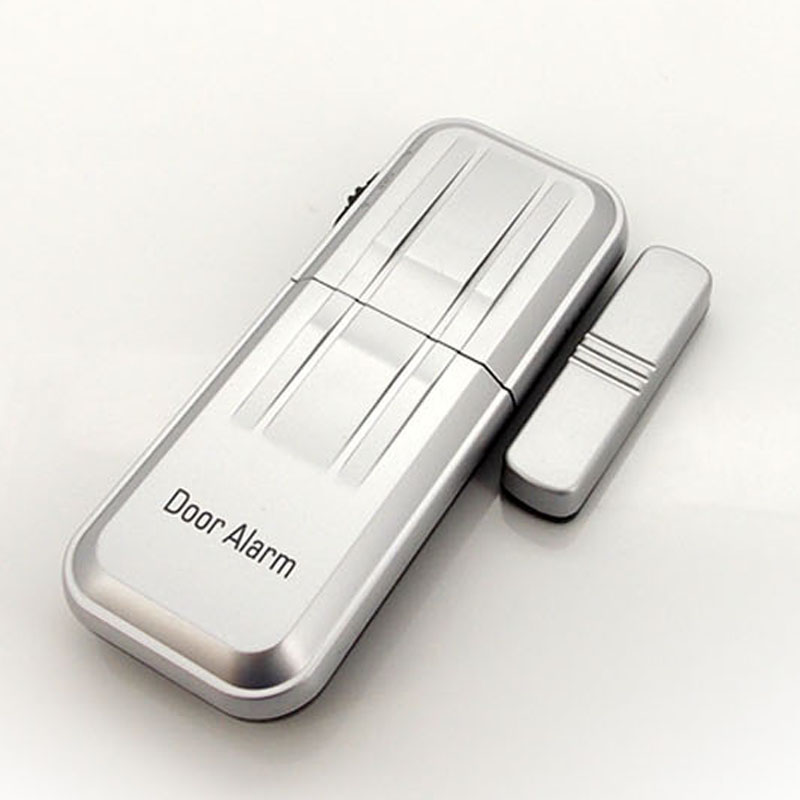 Mini Magnetic Sensor Triggered Alarm Security Household Entry Defense Anti-theft Door Windows Security Sensor FC