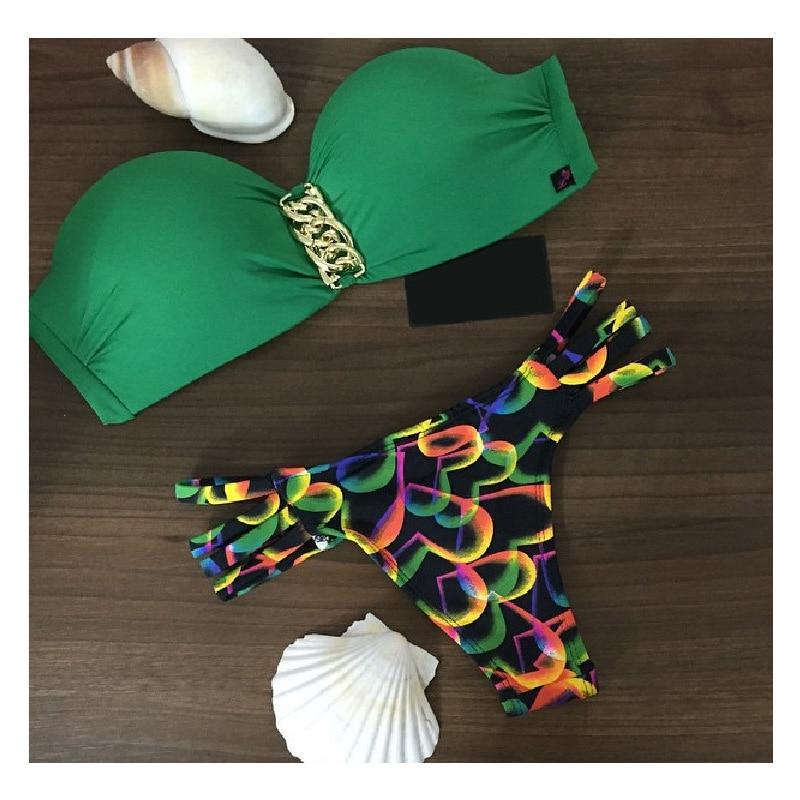 2017 New Brazilian Bikini Women Beach Sexy Bikini Swimwear Hot Summer Swimsuit Bathing Suit Push Up Bikini Set bungodik 2017 new bikini set brazilian summer beach wear reversible swimsuit sexy swimwear women swimsuit bathing suit de bano
