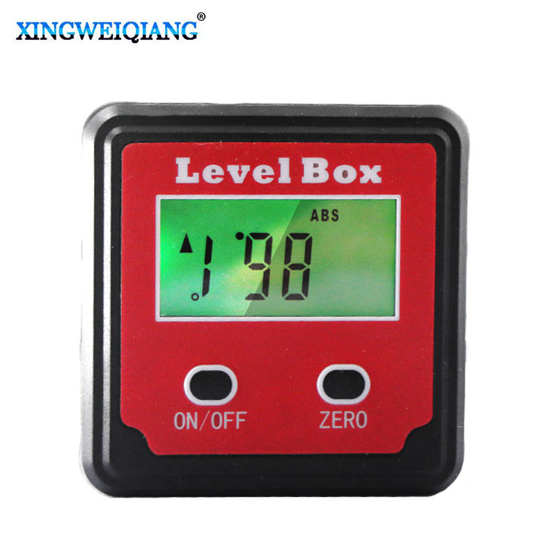 Durable Digital Inclinometer Spirit Level Protractor Angle Gauge Meter Bevel