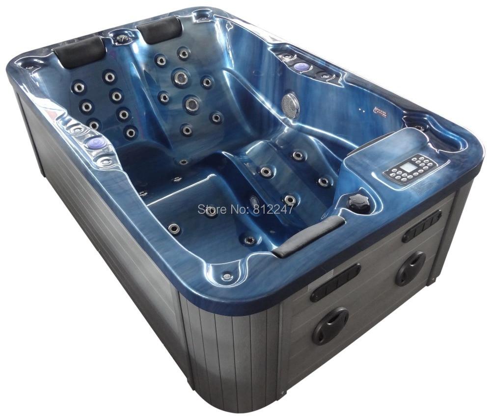 Mini indoor caliente bañera de lujo bañera de hidromasaje del sexo ...
