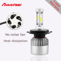 COB Led H4 H7 H11 H1 9004 9005 9006 9007 Car Headlight Bulb 12v 24v Car