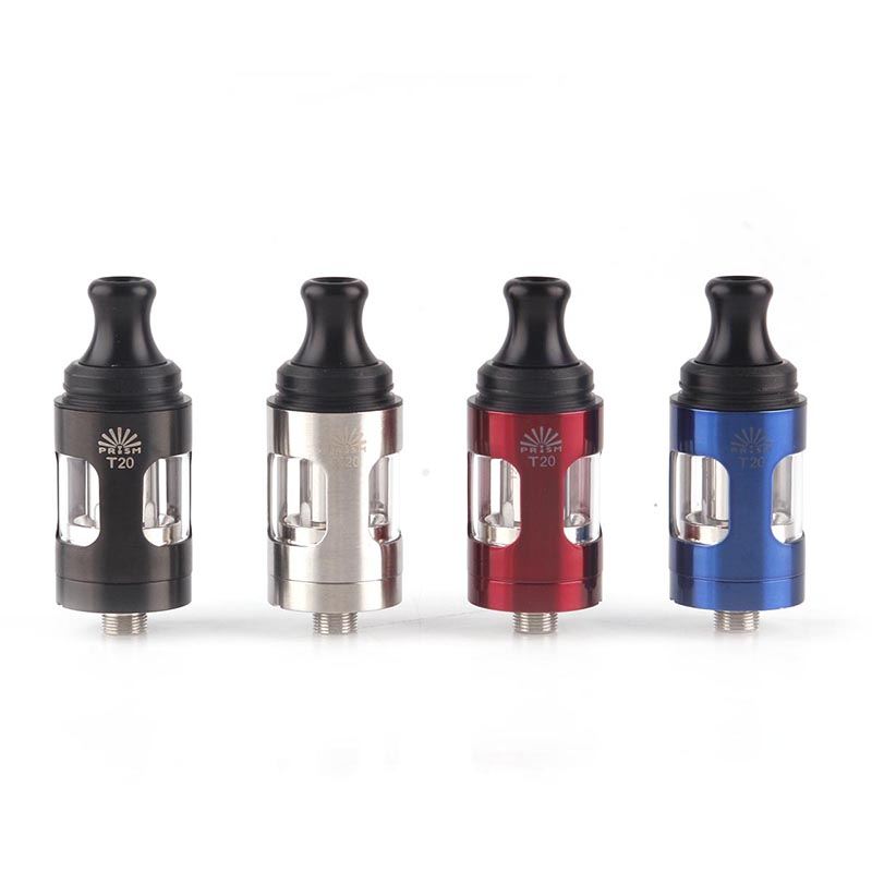 Innokin Endura T20 Atomizer 2ml Top Filling Prism T20 Tank Coil Head 1.5ohm Electronic Cigarette Core Fit for 510 Thread