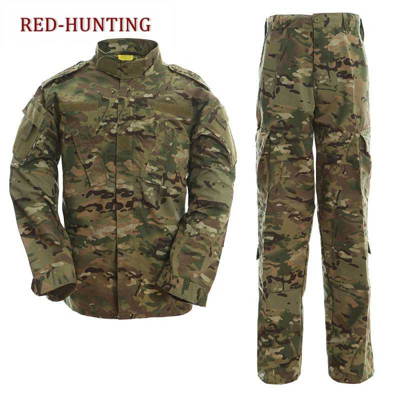 CP & ACU Outdoor Camouflage Armee Uniform Tactical Military Uniform Kampf Jagd Anzug BDU Training Jacke und Hose