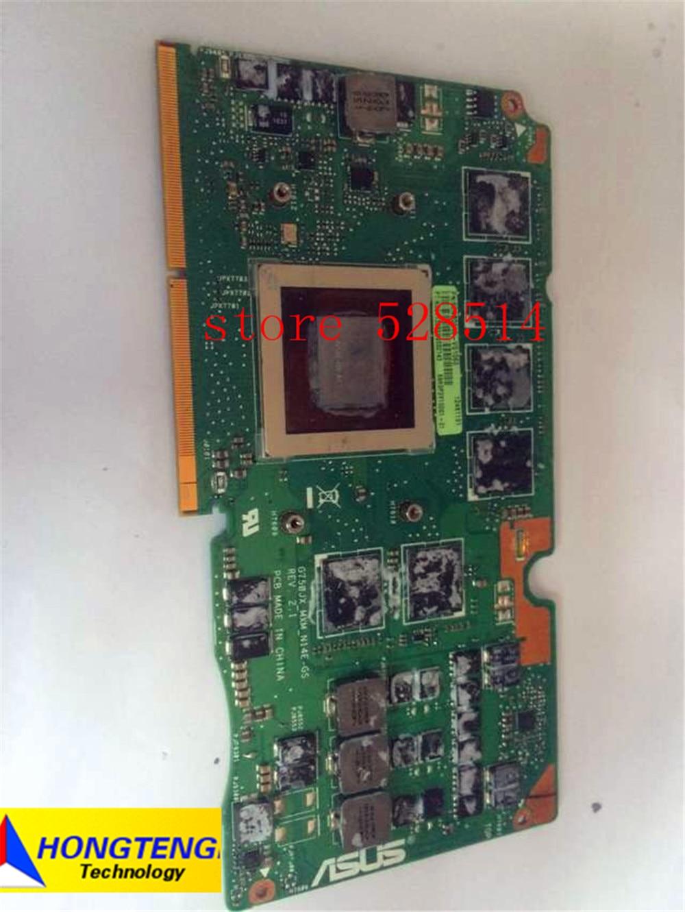 original Laptop FOR ASUS VGA card video card G750JX G750JX.MXM-N14E-GS N14-GS-A1 GT770M / 3GB 60NB00N0-VG1020 Full test ok