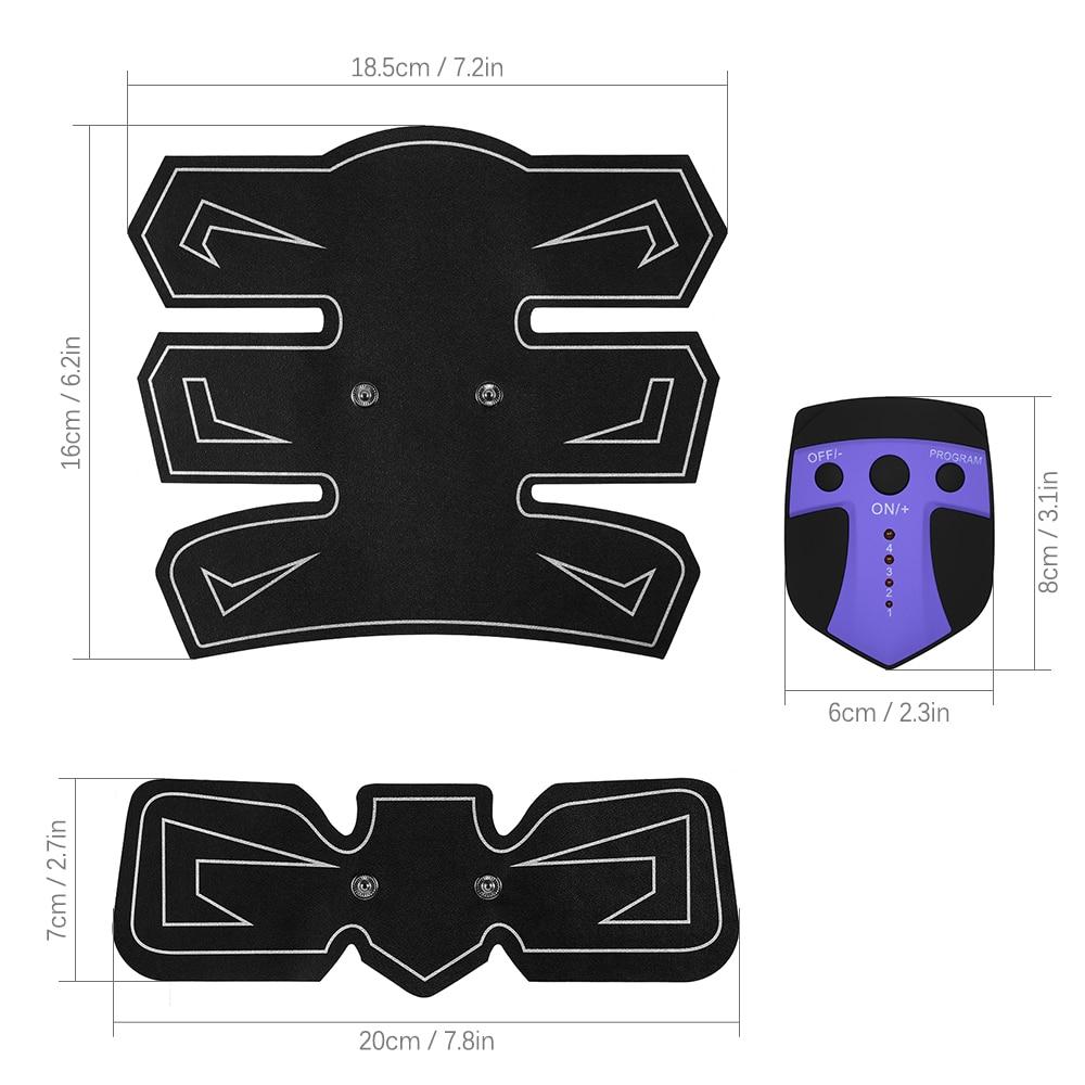 Abdominal EMS – 6 Pack Purple 5