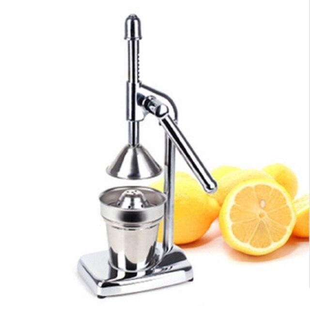 Stainless Steel Manual Hand Juicer Slow For Orange Lemon Lime And Grapefruit