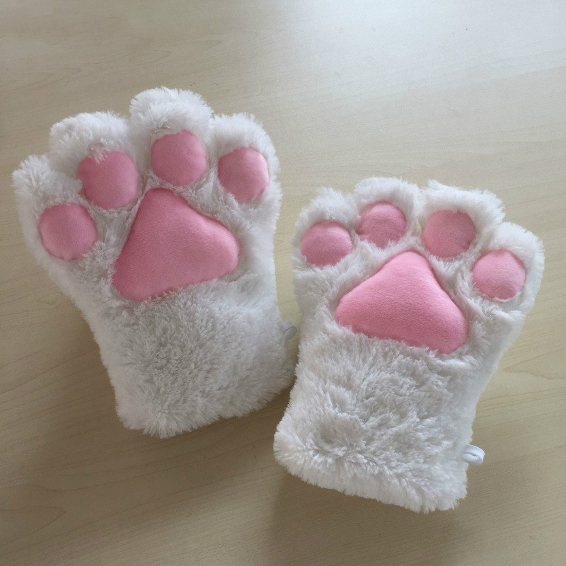 461961c50 Cute Sexy Kawaii Kitty Cat Meow star Love Ribbon Anime Cosplay Accessories  Sets Plush Paw Cat claws Gloves Tail Ear Headband-in Costume Accessories  from ...