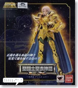 <font><b>BANDAI</b></font> japan version Model toys <font><b>Saint</b></font> <font><b>Seiya</b></font> <font><b>Cloth</b></font> <font><b>Myth</b></font> Gold Ex2.0 Aries Mu Action Figure toy child gift image