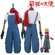 Luogen Anime Angels Death Edward Mason Cosplay Costume Satsuriku no Tenshi Eddie