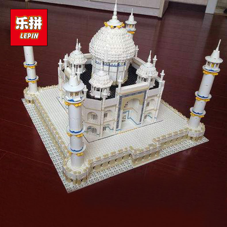 IN STOCK LEPIN 17001 5952PCS City Street Series The Tai Mahal Model Building Kits Assembling Brick Toys Compatible 10189