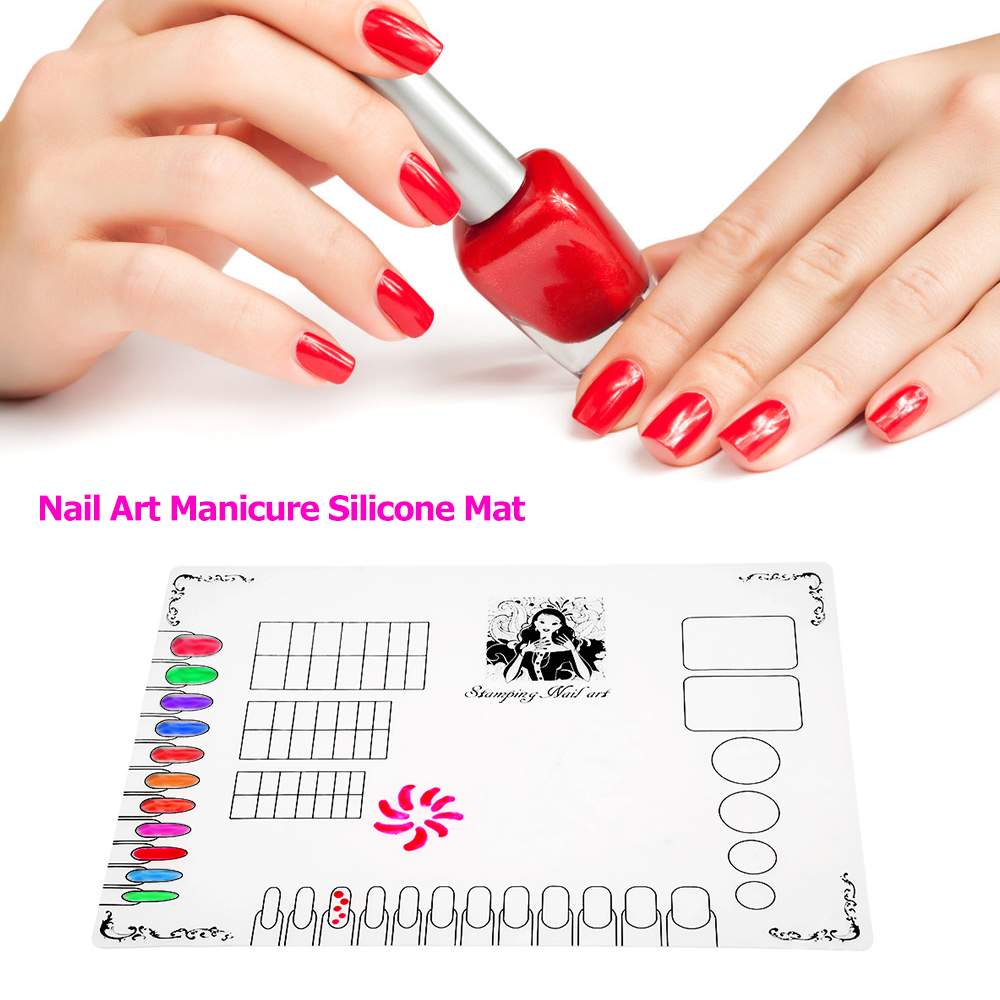Liefern Faltbare Nail Art Maniküre Praxis Werkzeuge Silikon Hand Kissen Halter Pad Matte Werkzeuge & Zubehör Handauflagen