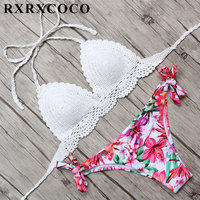 2017 New Sexy Micro Bikinis Women Swimsuit Swimwear Halter Brazilian Bikini Set Beach Bathing Suits Swim