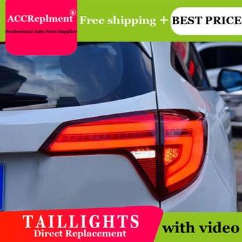 4PCS Car Styling for Honda vezel Taillights 2015-2018 for vezel   LED Tail Lamp+Turn Signal+Brake+Reverse LED light