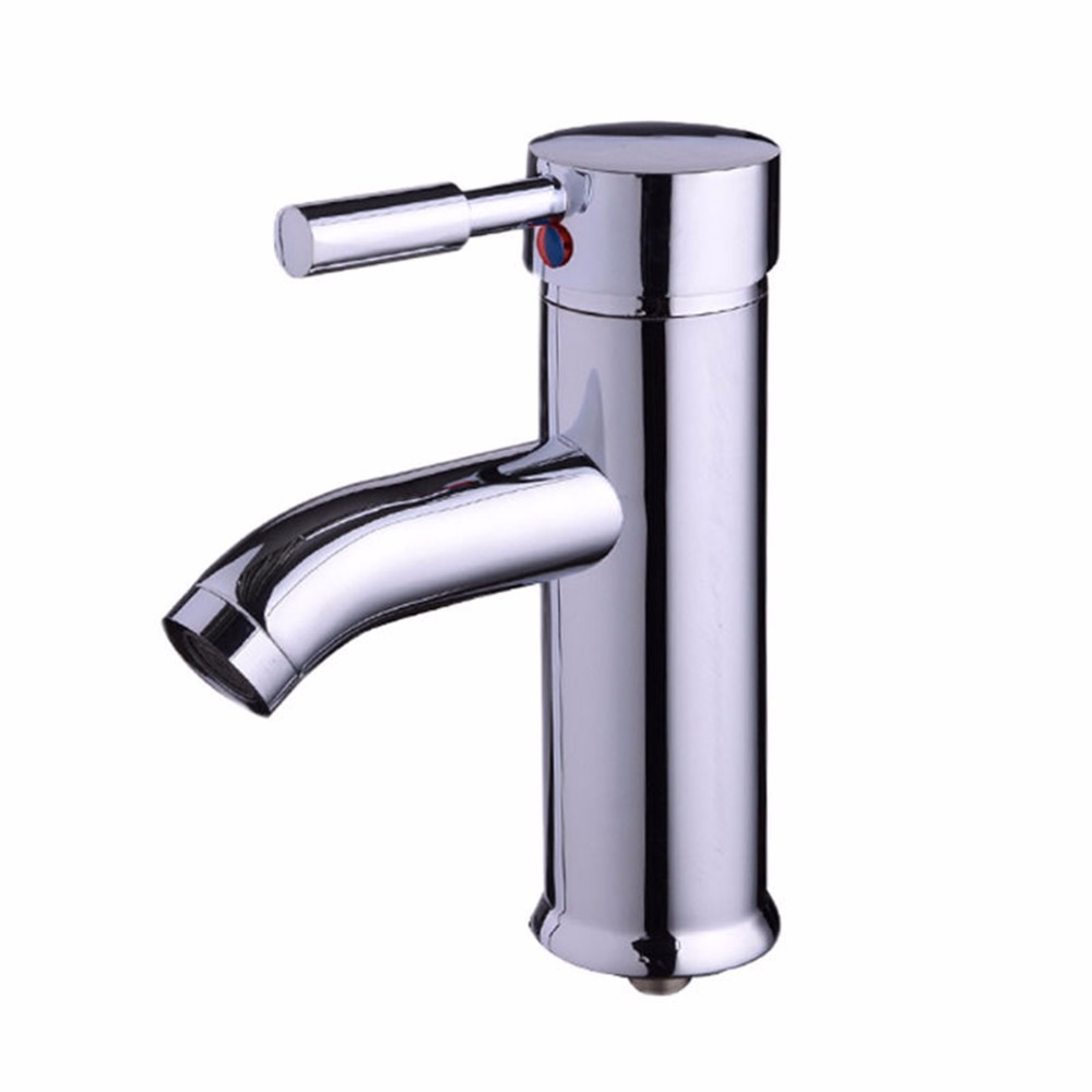 Chrome Kitchen faucet Mixer Cold and Hot Kitchen Tap Single Hole Water Tap torneira cozinha