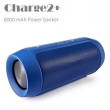 Crazycube charge2 + мода разработанный мини портативный bluetooth водонепроницаемый динамик с power bank пк флип импульса 2 chr2 +