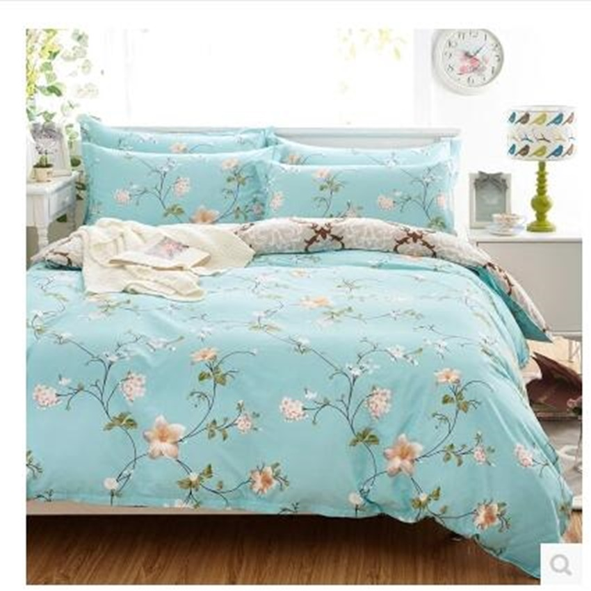 Full Cotton Bedding Set Including 1duvet Cover 2